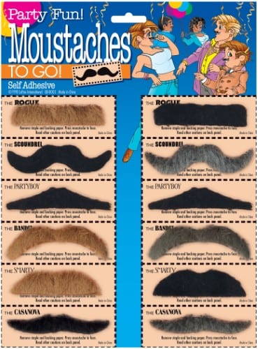 Mustaches To Go (Carded) 7