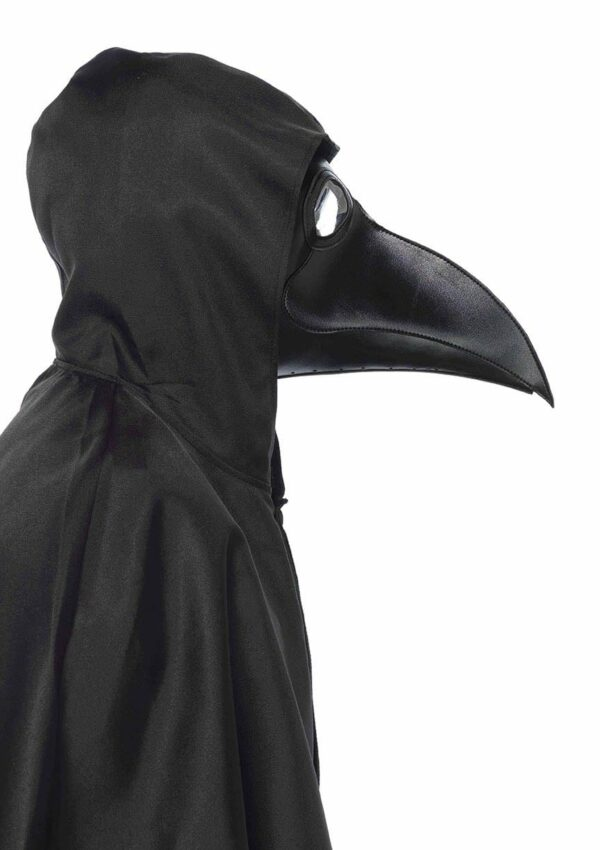 Faux Leather Plague Doctor Mask 1