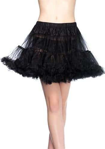 Floofy Petticoat Black Queen 1