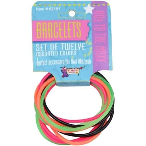Neon Jelly Bracelets 4