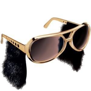 Rock & Roll Sunglasses w/Sideburns 10