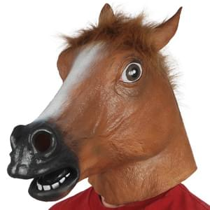Brown Horse Mask 2