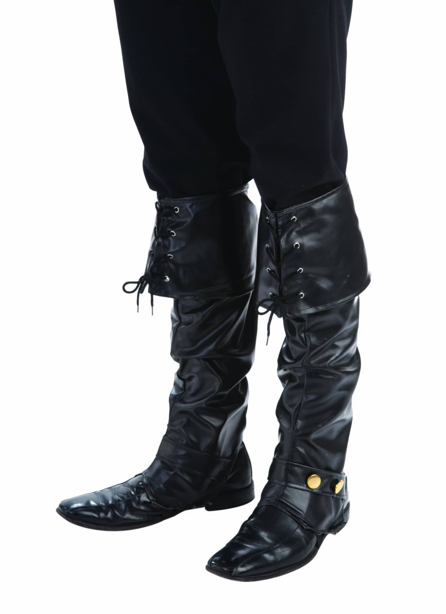 Deluxe Pirate Boot Covers 6