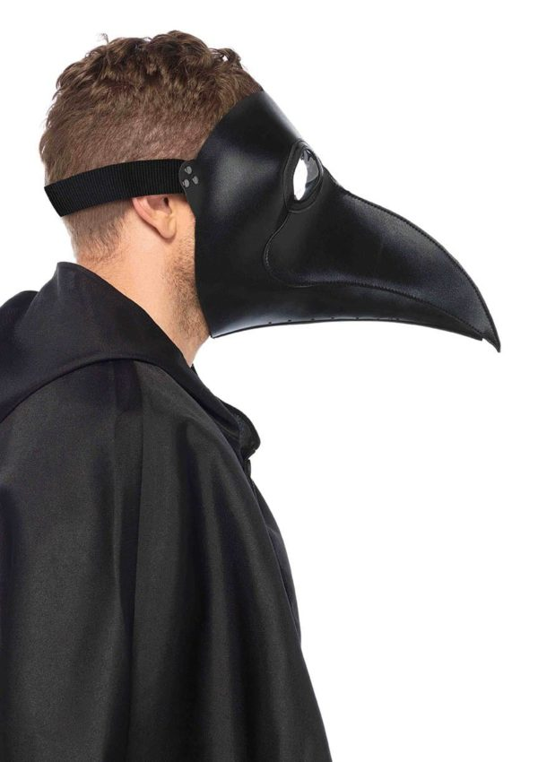 Faux Leather Plague Doctor Mask 3