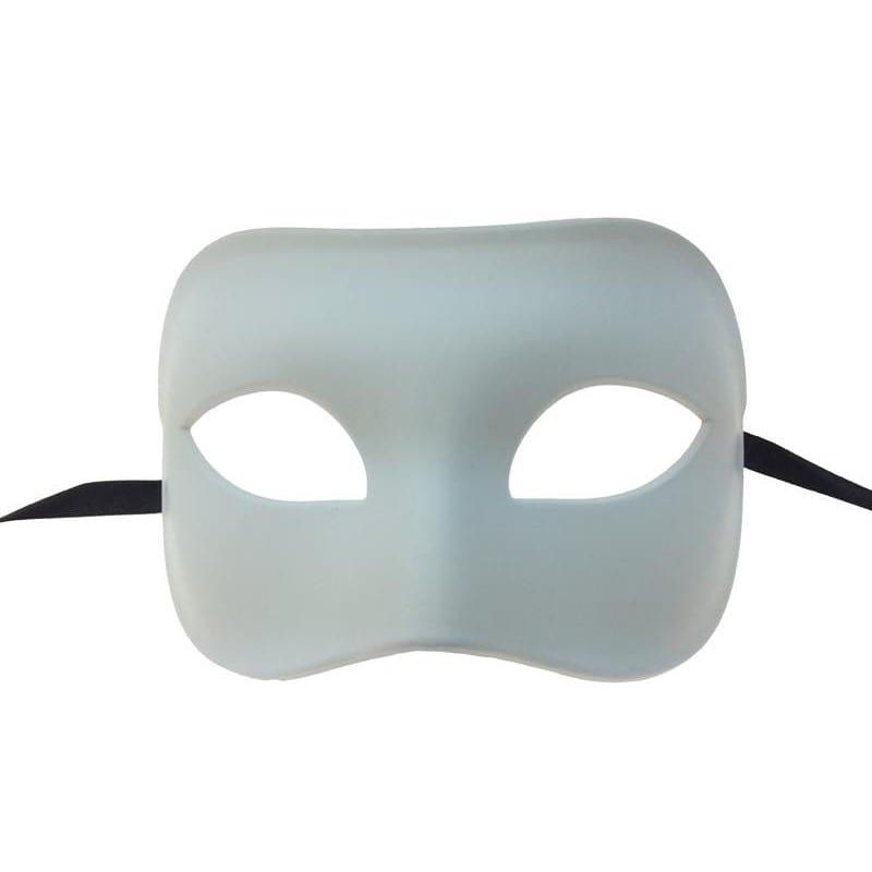 White Venetian Mask 4