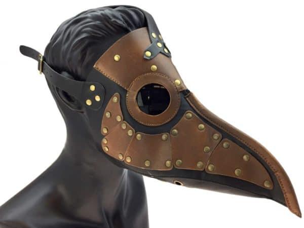 Steampunk Style Plague Mask 2