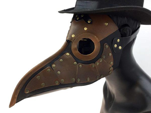 Steampunk Style Plague Mask 1