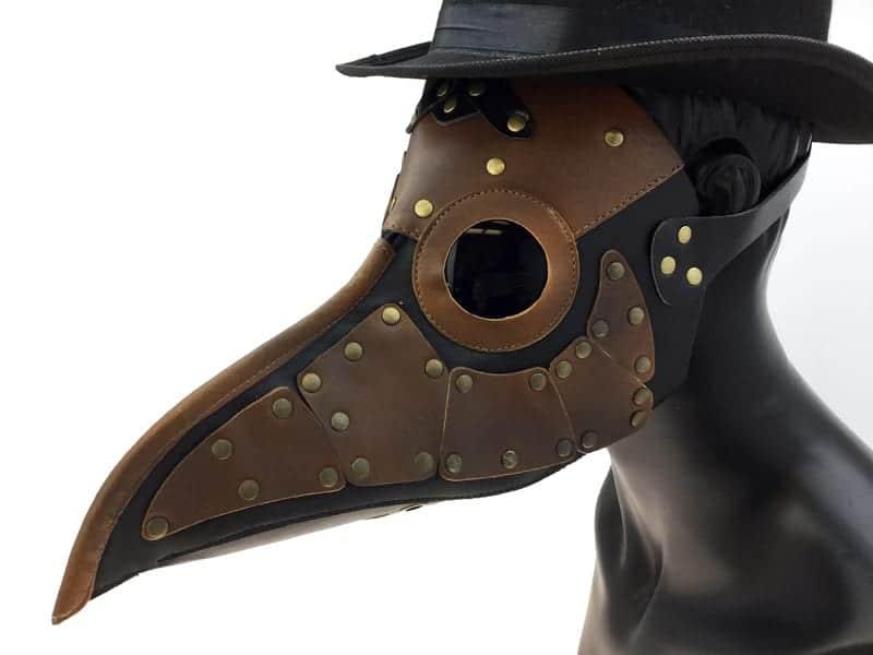 Steampunk Style Plague Mask 8