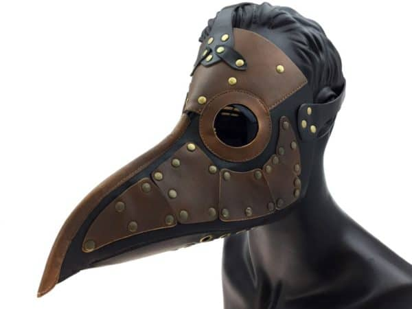 Steampunk Style Plague Mask 3