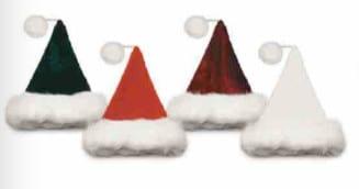 Deluxe Plush Santa Hat 1