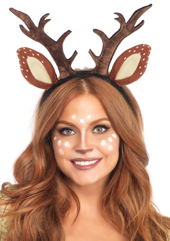 Deer Fawn Antler Headband 5