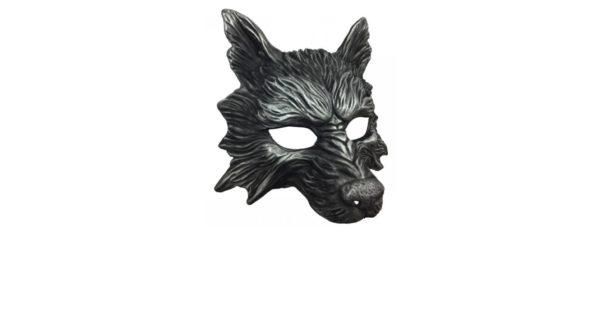 Black Wolf Mask 1