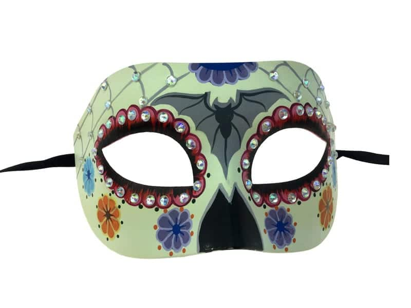 Day of the Dead Half Mask 9