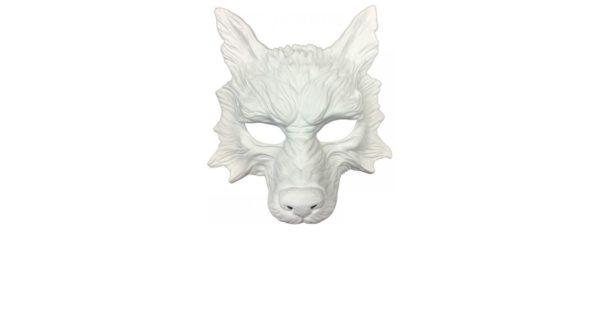 White Wolf Mask 1