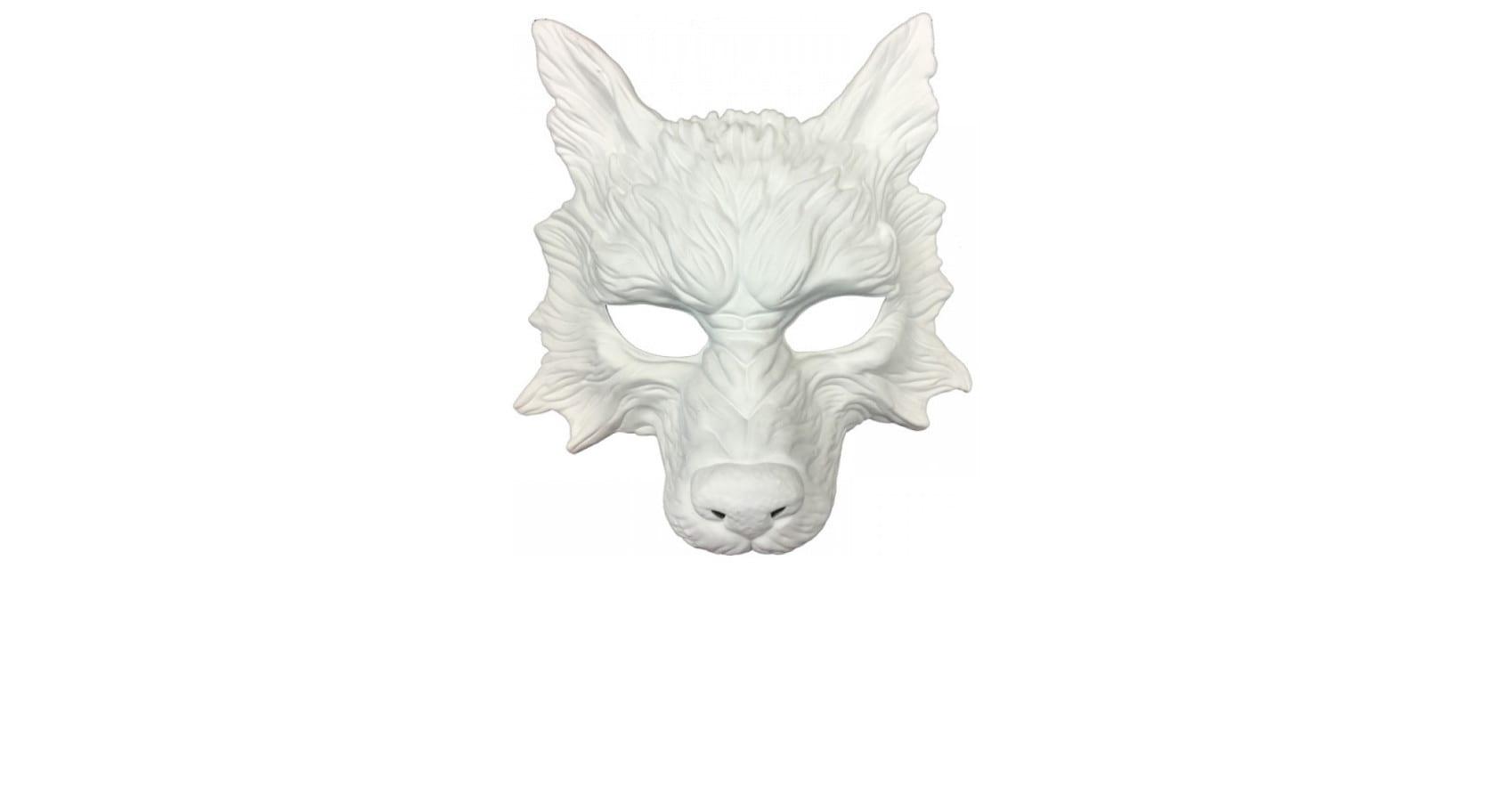 White Wolf Mask 9
