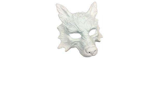 White Wolf Mask 2