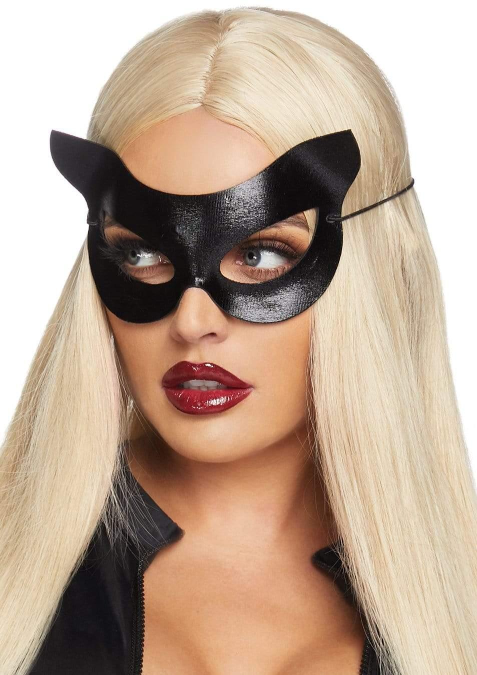 Black Vinyl Cat Mask 4
