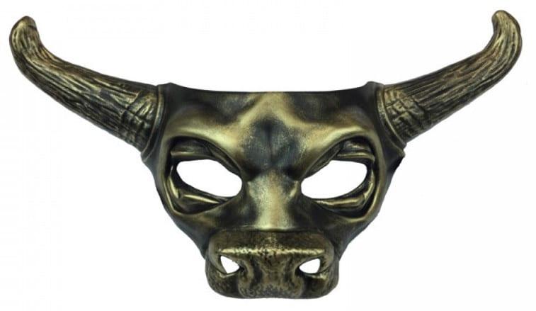 Copper Bull Mask 12