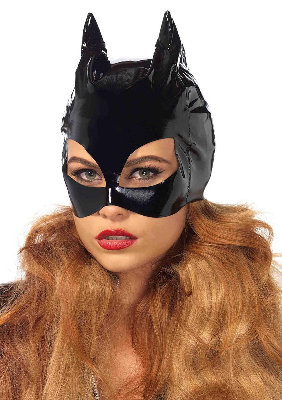 Vinyl Cat Woman Mask 3