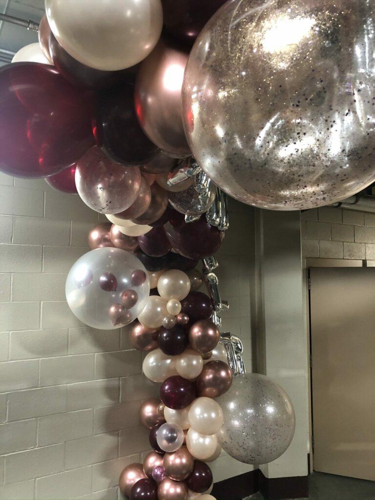 Balloon within ballons.