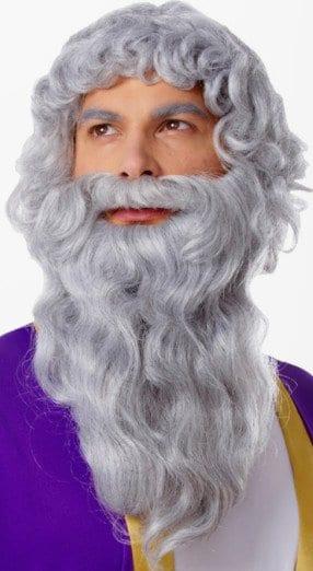 Deluxe Biblical Wig & Beard Set 11