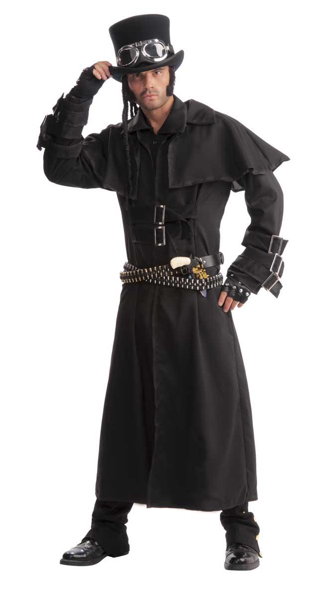 Steampunk Duster Coat 10