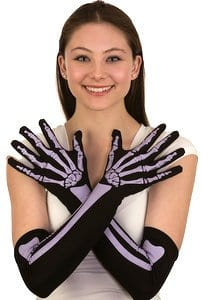"""15"""" Skeleton Gloves 9"""