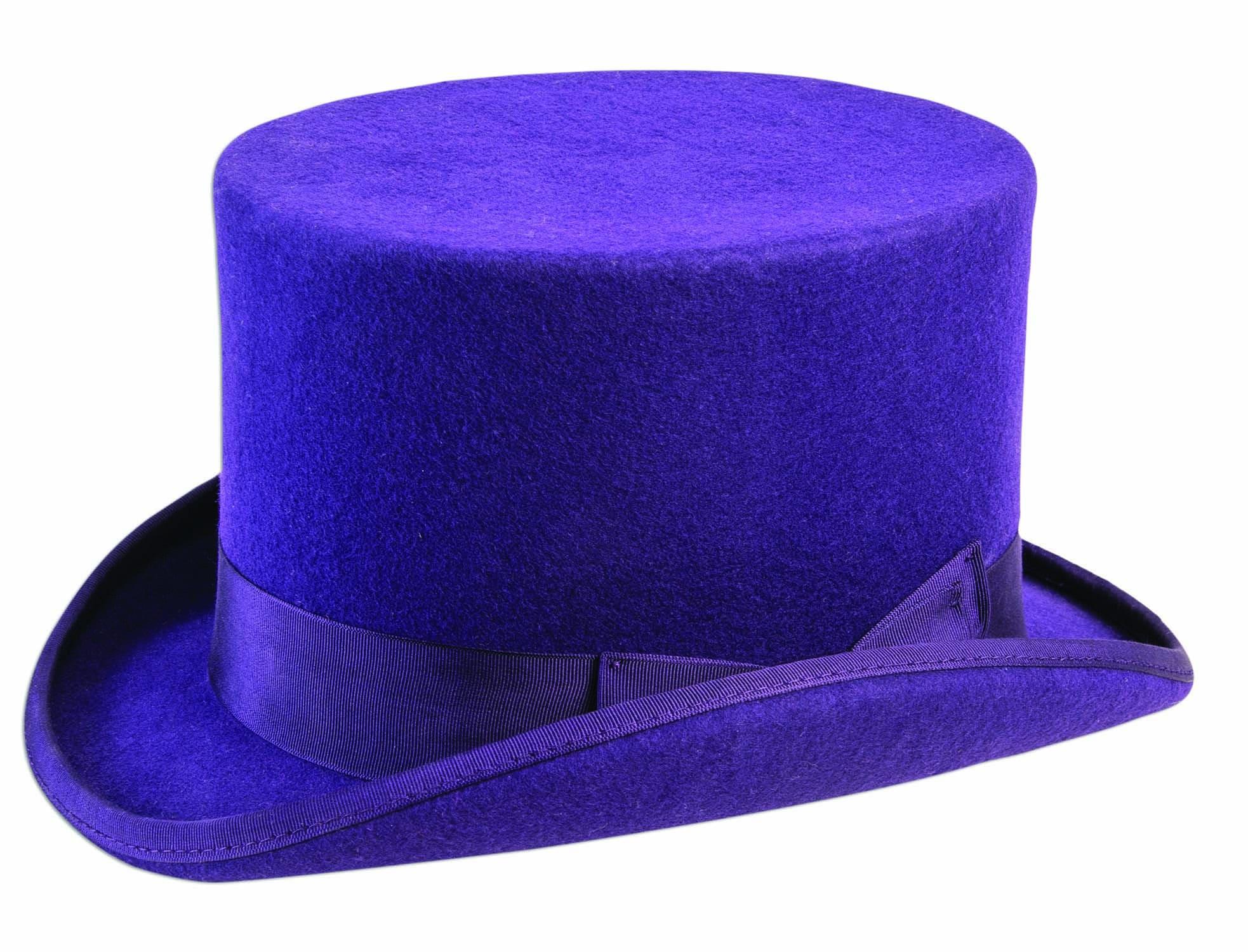 Deluxe Purple Top Hat 2