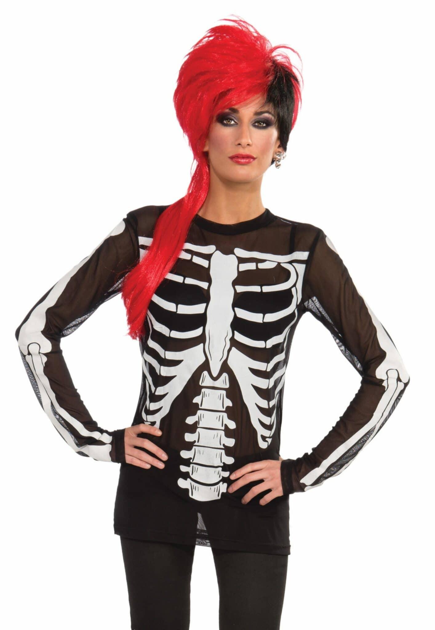 Mesh Skeleton Shirt 5
