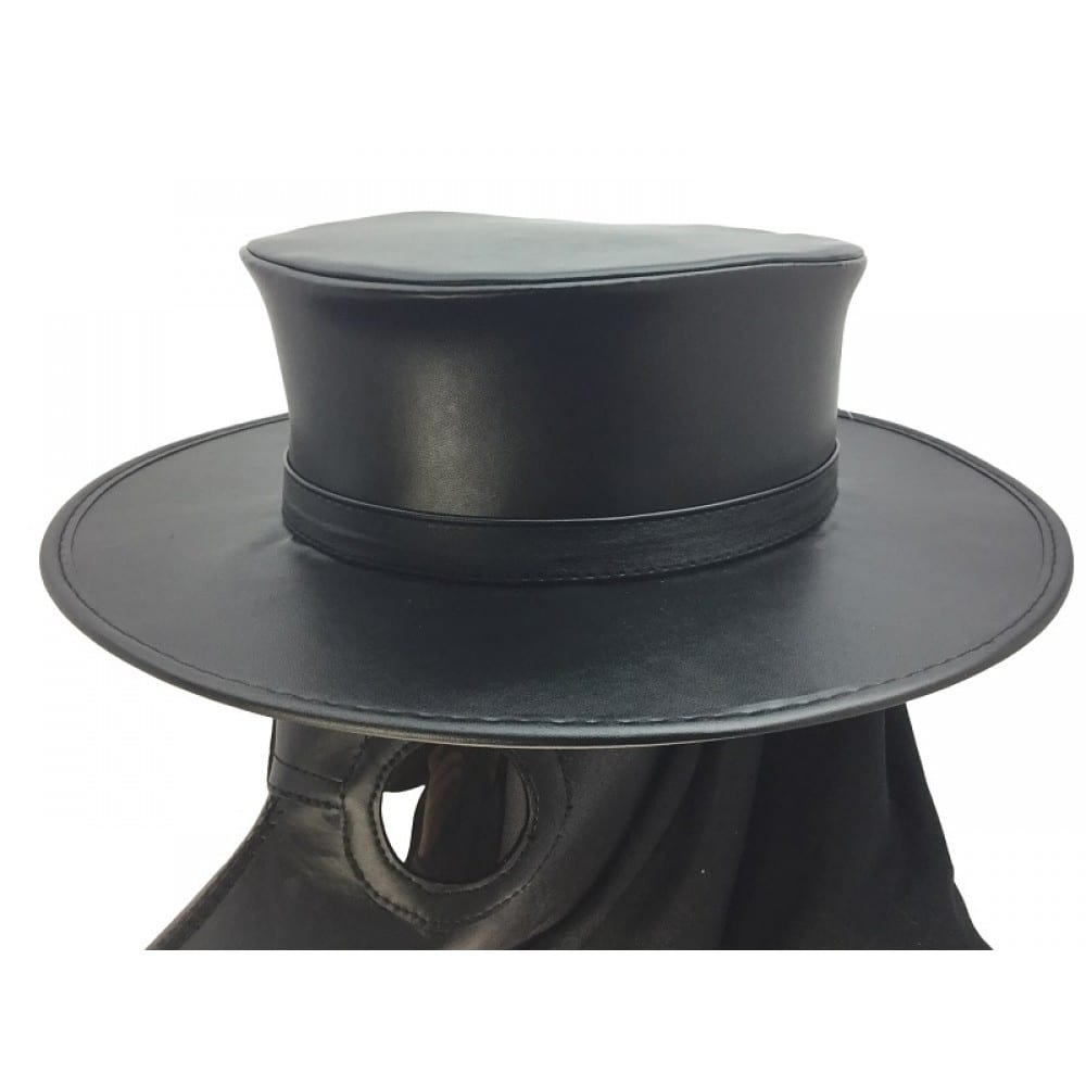 Leather Plague Doctor Hat 10