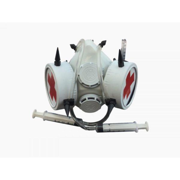 MedicalPunk Gas Mask w/ Syringes 1