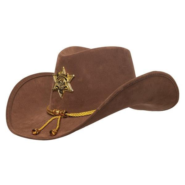 Brown Sheriff Hat 9