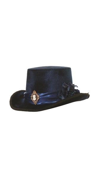 Blue Victorian Hat 12
