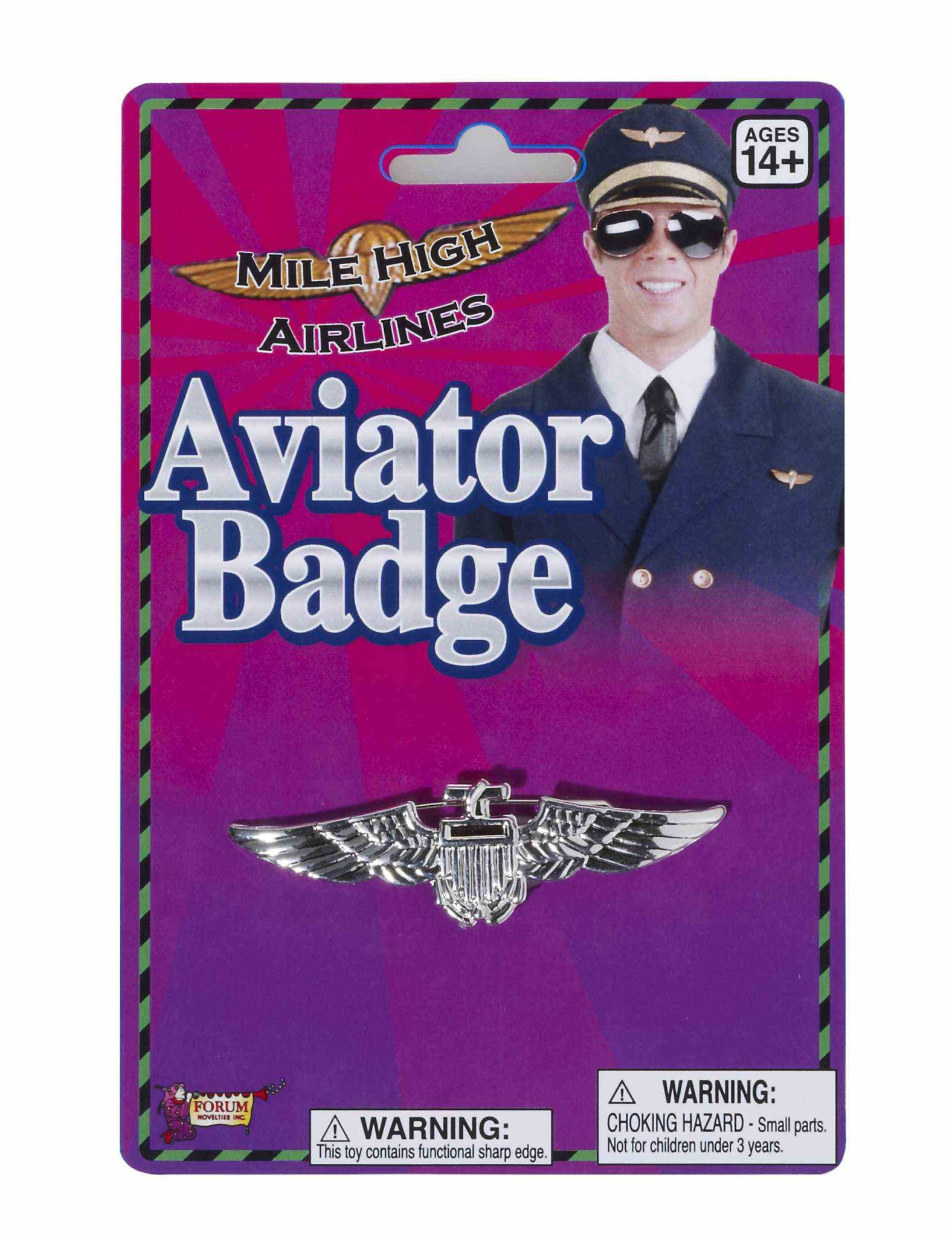 Aviator Badge Silver 2