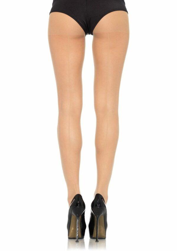 Back Seam Sheer Pantyhose 1