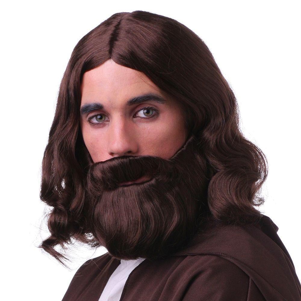 Jesus Wig Set 3