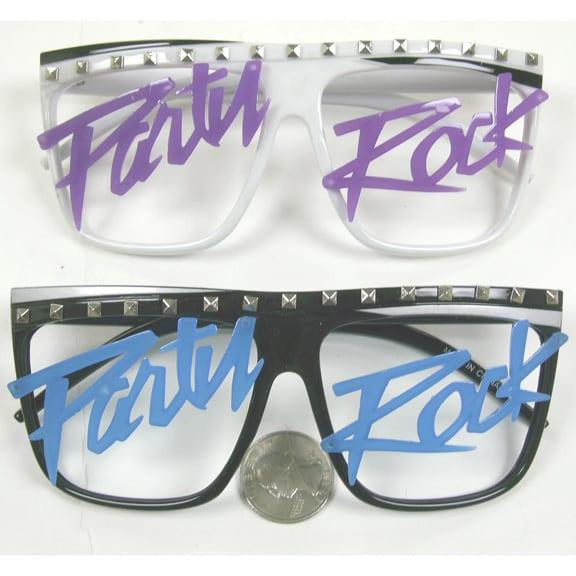 Party Rock Lensless Glasses 2
