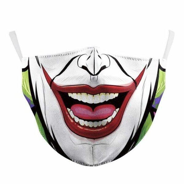 Joker Cotton Face Mask 1