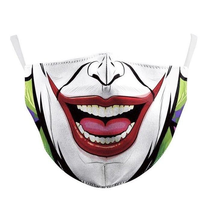 Joker Cotton Face Mask 6