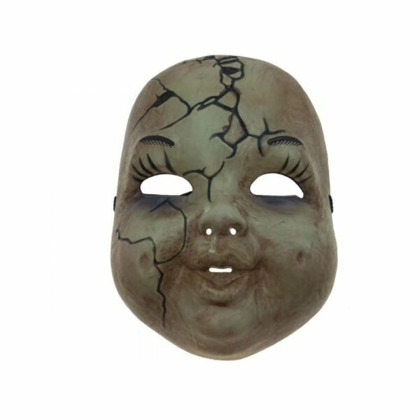 Cracked Baby Face Mask 1