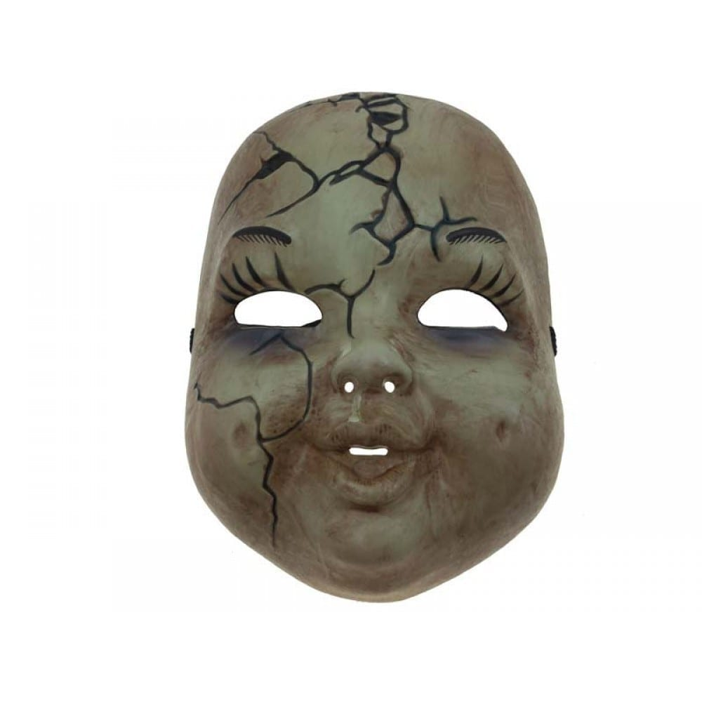 Cracked Baby Face Mask 2