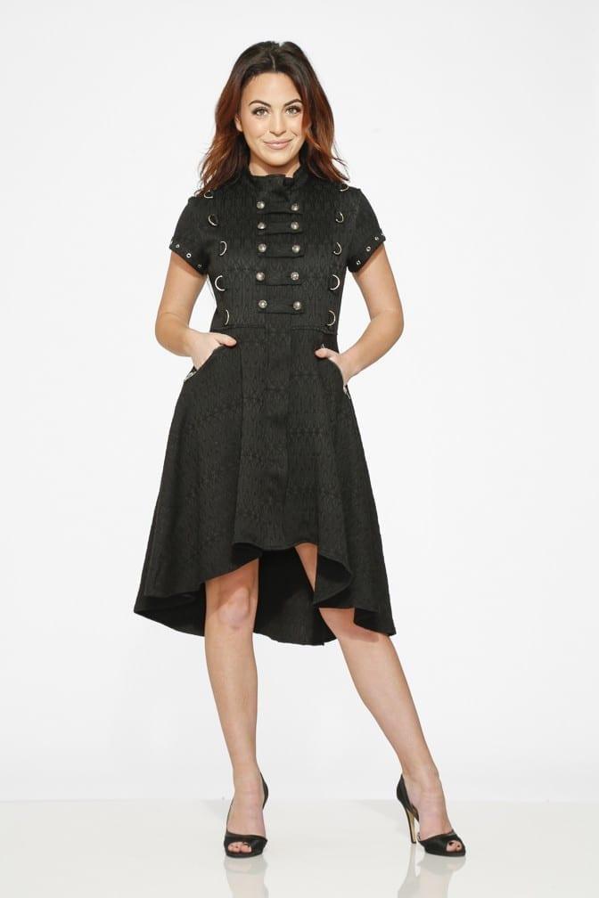 Jacquard HiLo Dress 9