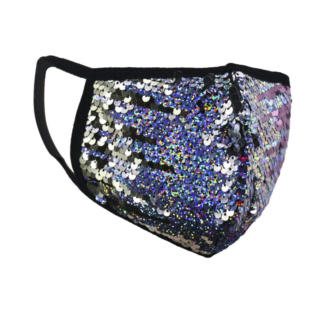 Reversible Sequin Face Mask 10