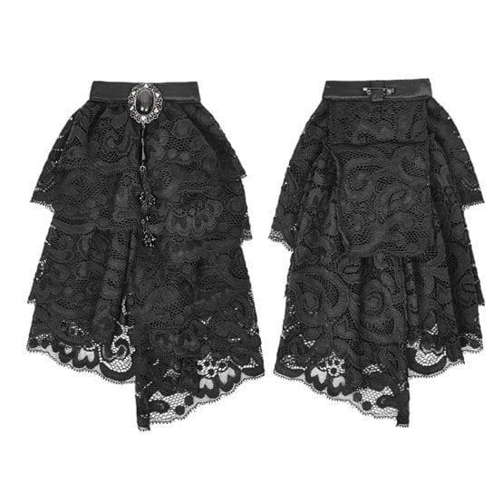 Black Gothic Necktie 8