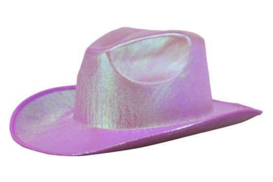 Metallic Cowgirl Hat 3
