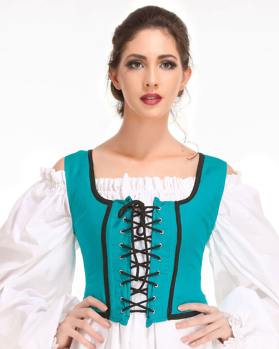 Reversible Wench Bodice (Decorated) 10