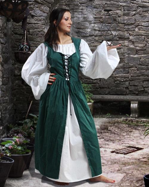 Ameline Peasant Dress 12