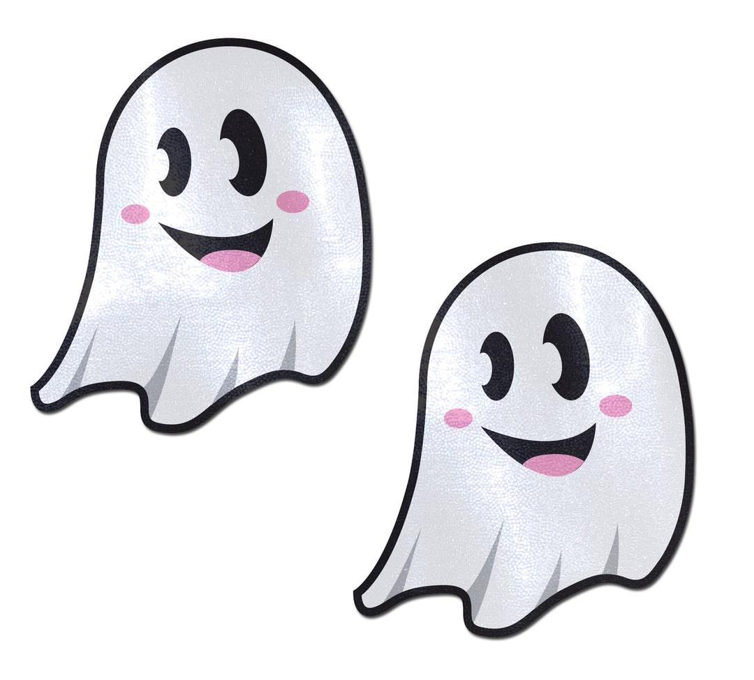 Ghost: Cute White Ghost Nipple Pasties 5