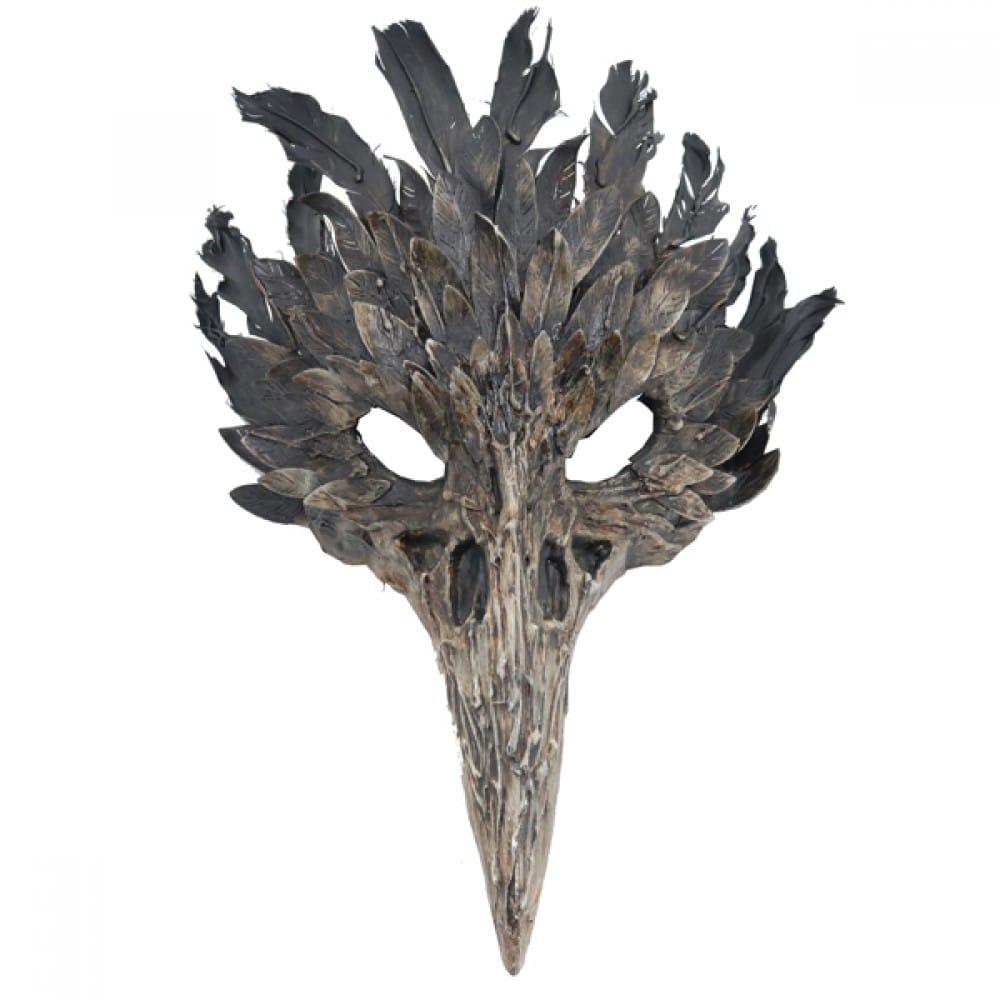 Bone Devil Bird Mask 12