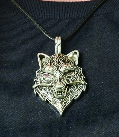 Wolf Head Necklace 6